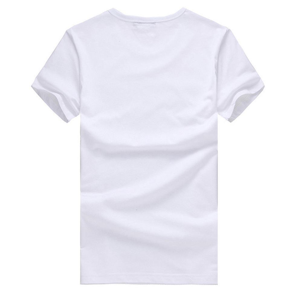 Amazon.com: ihph7 para hombre blusa impresión tees camisa ...
