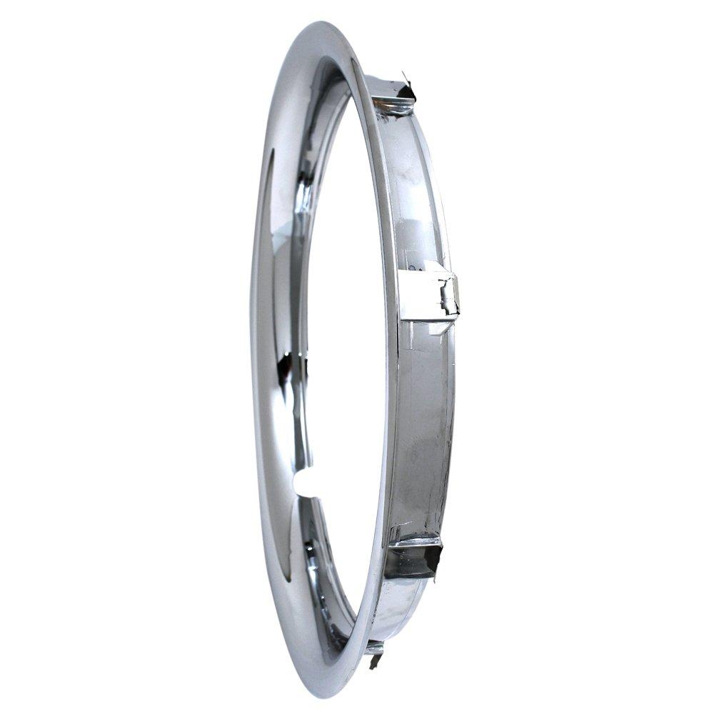 OxGord Trim Rings 16 inch diameter (Pack of 4) Chrome ABS Plastic Beauty Rims by OxGord (Image #2)