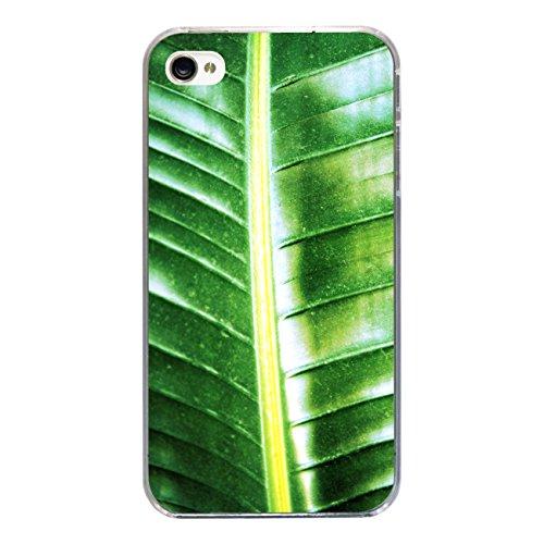 "Disagu Design Case Coque pour Apple iPhone 4s Housse etui coque pochette ""Bananenblatt"""
