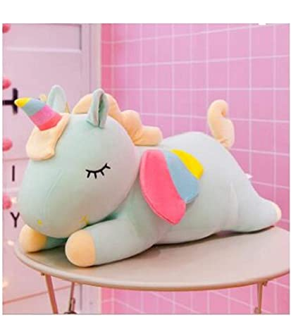 slv Unicorn Plush Toy Stuffed Animal Pillow Cushion Soft Toys for Baby Kids 30cm