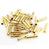 20 Pairs USAQ 2mm Bullet Connector Gold-Plated RC Quadcopter Drone