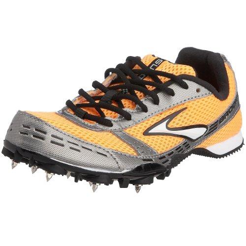 Brooks Surge MD, Chaussures de running femme - Dayglo orange / gris, 44 EU