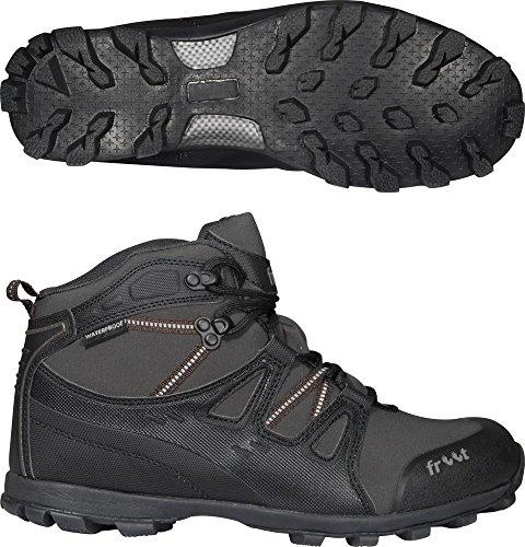 Onda continua 5 Mudgrip + mediados de zapatos de senderismo 1 Gris - gris oscuro