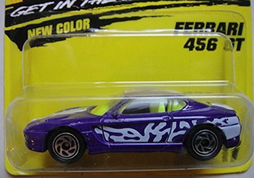 MATCHBOX SUPER FAST PURPLE FERRARI 456 GT - Ferrari Purple