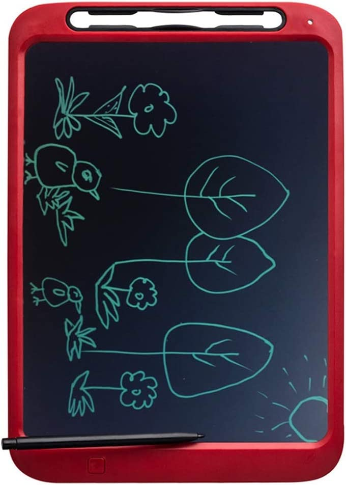 Red-12 Inch One Button Erase LCD Writing Board//Electronic Writing Board//Drawing Board // Suitable for Children Drawing Graffiti Gift Memo