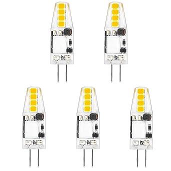 Bonlux 2W G4 12V AC/DC LED Bi-pin Bombilla, SMD 2835,