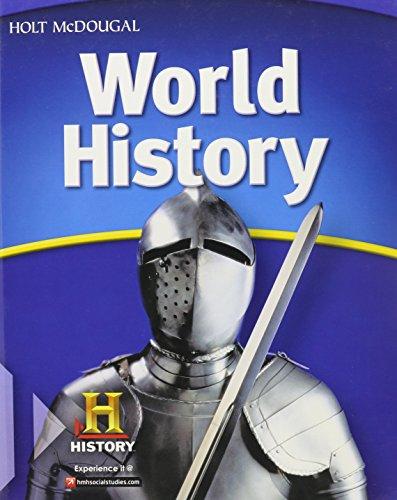 Holt McDougal World History (McDougal Littell Middle School World - Outlets Of Loveland