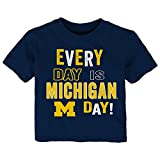 Gen 2 NCAA Michigan Wolverines Toddler Everyday Short Sleeve Tee, 3T, Dark Navy