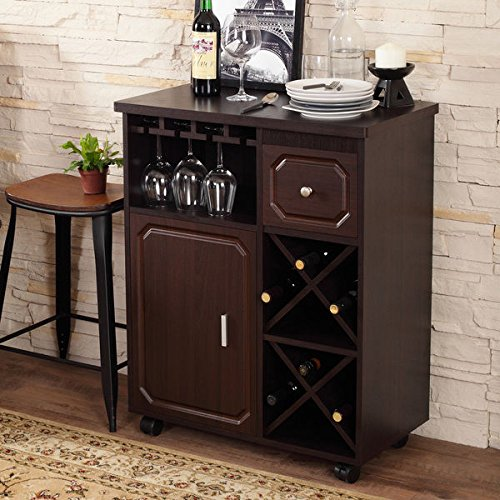 Furniture of america crestall multi storage espresso for Home bar furniture abu dhabi