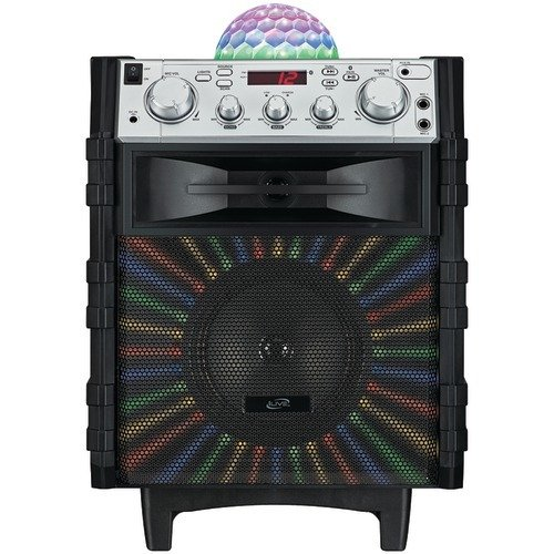 (iLive Tailgate Speaker with Disco Ball)