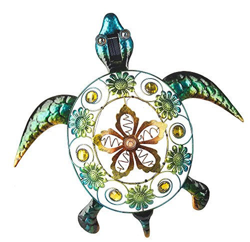 Ganz 20 Quot Light Up Turtle Shaped Plaque For Outdoor Garden