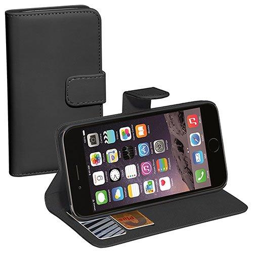 """Pedea klassiche """"Bookstyle""""  Schutzhülle mit Magnetverschluss in schwarz  - für Apple iPhone 6/6S"""