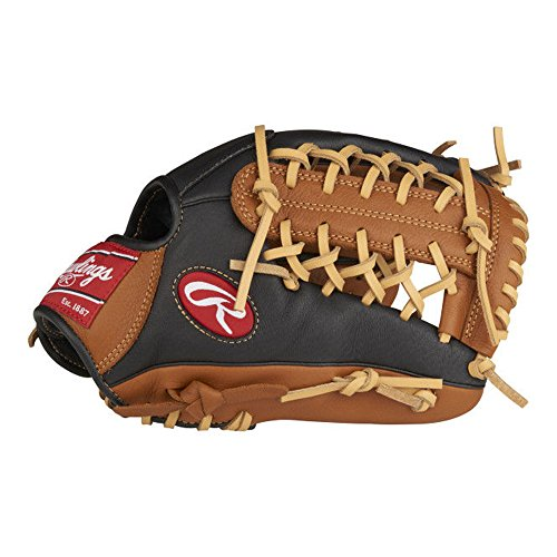 Rawlings P115GBMT-6/0 Prodigy Youth Baseball Glove, Regular, Modified Trap-Eze Web, 11-1/2 -