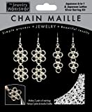 Midwest Products Chain Maille Silver Japanese Earrings Jewelry Kit