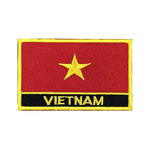 Vietnam Flag Patch/Sew-On Morale Travel Patches by