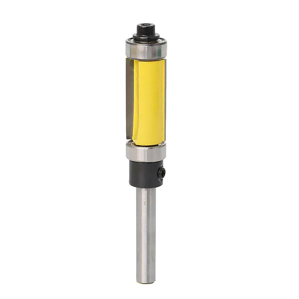 Gazechimp Fraise à Copier 25mm-38mm pour Traitement de Bois - Noir, 25mm