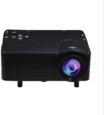 Opinión sobre Proyector H80 Home Mini Proyector LED Mini HD 1080P Proyección-Black