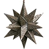 16 Inch Moravian Hanging Tin Star Light – Flower Cut Review