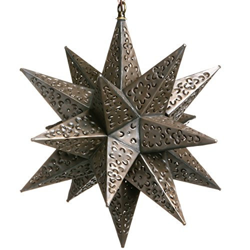 Metal Flower Pendant Light