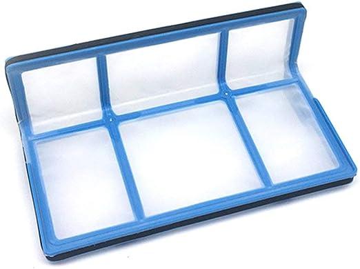 73JohnPol Repuesto Filtro Hepa para Polvo para Ilife V5 V5s V3 V3s V5pro V50 V55 X5 Ilife V5s Pro Aspirador Recambios Accesorios, Blanco y Azul: Amazon.es: Hogar