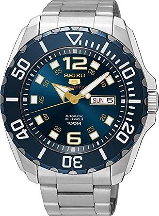 5262c1e762 Amazon | [セイコー] SEIKO 5 スポーツ 腕時計 自動巻き(手巻付き) 日本 ...