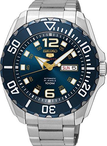 Seiko 5 Sports, Reloj deportivo, 100M, hecho en Japón - SRPB37J1: Amazon.es: Relojes