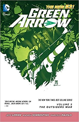 Amazon green arrow vol 5 the outsiders war the new 52 5 the outsiders war the new 52 9781401250447 jeff lemire andrea sorrentino books fandeluxe Images