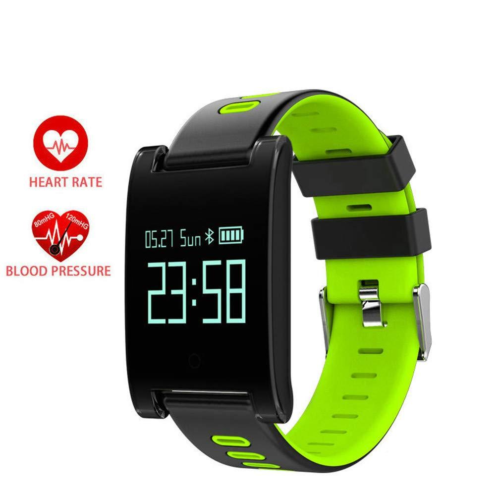WSDSX Bracciale Sportivo, Monitoraggio della Frequenza Cardiaca, Braccialetto Intelligente