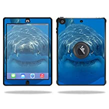 Mightyskins Protective Skin Decal Cover for OtterBox Defender Apple iPad Air Case wrap sticker skins Shark