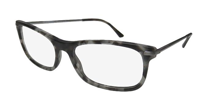 Amazon.com: Burberry Eyeglasses BE 2195 3534 Matte Grey Havana 55mm ...