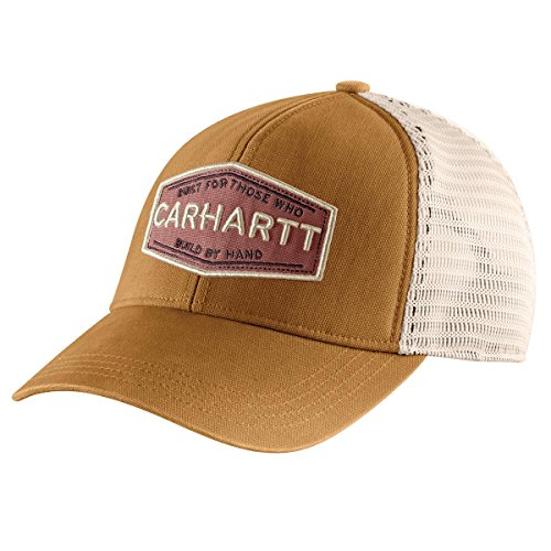 - Carhartt Women's Bellaire Built by Hand Cap, Brown, OFA