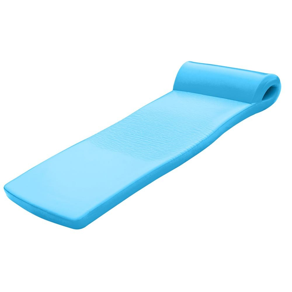 Texas Recreation Ultimate Swimming Foam Pool Floating Mattress, Marina Blue, 2.25'' Thick by Texas Recreation
