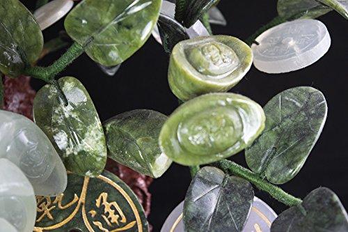 Vintage Chinese Carved Jade & Semi Precious Stone Shohin Bonsai Tree # 104 by Calibonsai (Image #4)