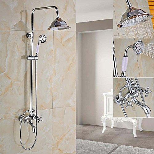 Bath Mixer Set - Zovajonia Chrome 8