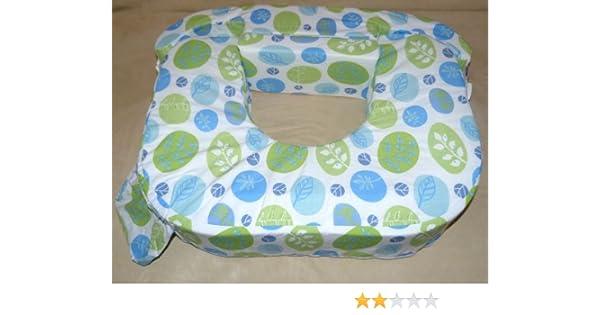 Americano cojín para embarazo y lactancia para Zwillinge de Baby Wild, colour verde-colour azul hojas con diseño de: Amazon.es: Bebé