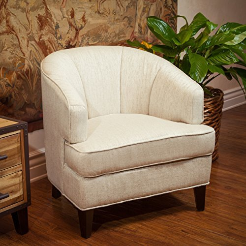 Camden Modern Design Upholstered Tub Accent Club Chair