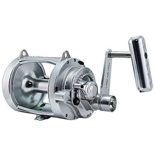 Cheap Accurate Platinum TwinDrag ATD 30 Reel – Silver – Right Handed