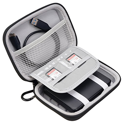 Lacdo Hard Shockproof Carrying Case for Toshiba Canvio