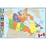 Modern Map of Canada, 36x24