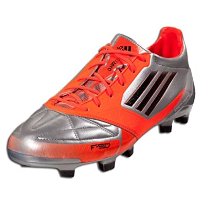 online retailer 03027 7f59f Adidas F50 Adizero Trx Fg Leather Soccer Cleats (11.5, Metallic Silver black infrared)   Amazon.co.uk  Shoes   Bags