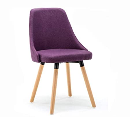 Pleasant Dining Chair Solid Wood Simple Modern Curved Back Coffee Theyellowbook Wood Chair Design Ideas Theyellowbookinfo