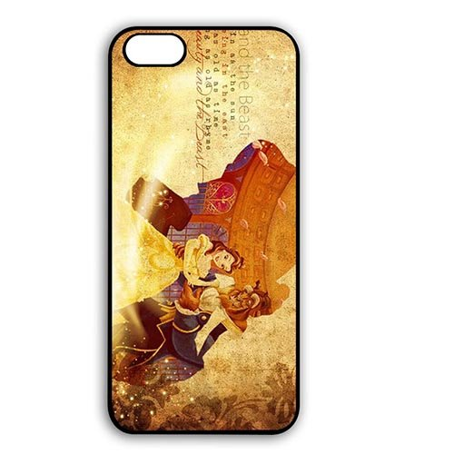 Coque,Cool Cover Case Covers for Coque iphone 7 4.7 pouce, Disney the Beauty And the Beast Design