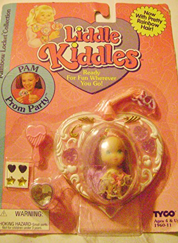 Tyco Liddle Kiddles Rainbow Locket Pam Prom Party Doll