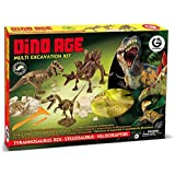 Geoworld - Cl468k - Jeu Scientifique - Multi Excavation Kit - Dino Age