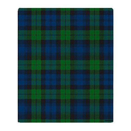 CafePress Black Watch Tartan Plaid Soft Fleece Throw Blanket, 50