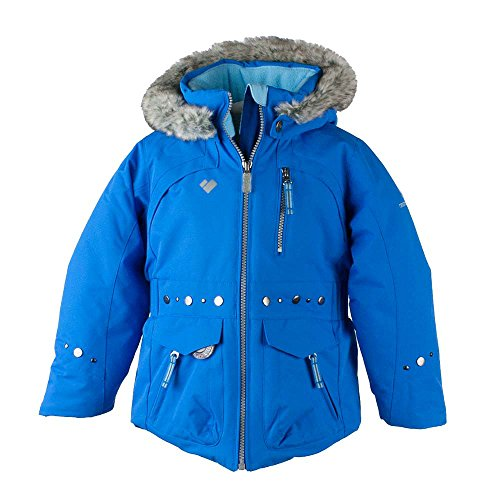 Obermeyer Kids Baby Girl's Taiya Jacket (Toddler/Little Kids/Big Kids) Stellar Blue 8 by Obermeyer Kids