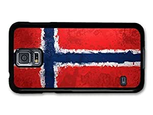 Norwegian Flag Norway Norske Flagg case for Samsung Galaxy S5
