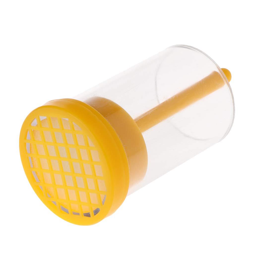 JAGETRADE Cage de marquage de marqueur de Bouteille de Reine d'abeille de avec l'équipement en Plastique d'apiculteur de Plongeur