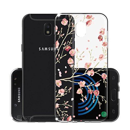 Funda para Samsung Galaxy J5 2017 (Sólo se aplica a la versión europea) , IJIA Transparente Atrapasueños Negro TPU Silicona Suave Cover Tapa Caso Parachoques Carcasa Cubierta para Samsung Galaxy J5 20 WM84