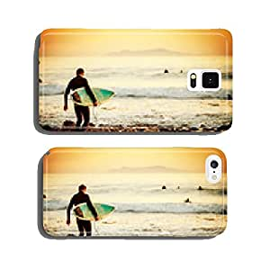 Surfer sunset cell phone cover case Samsung S6